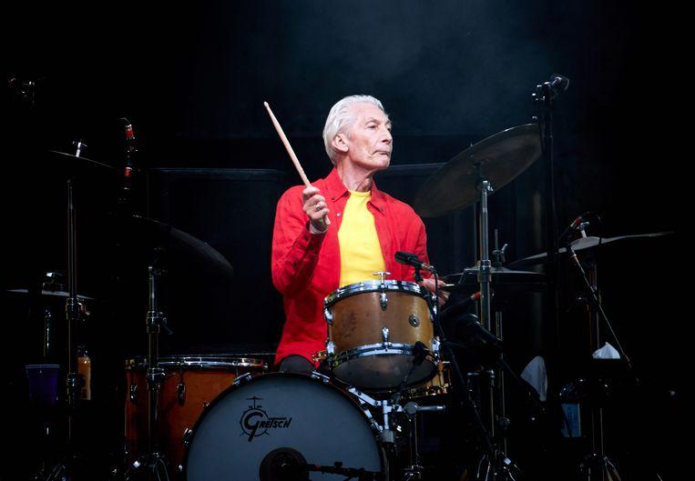 Rolling Stones-drummer Charlie Watts. Beeld EPA
