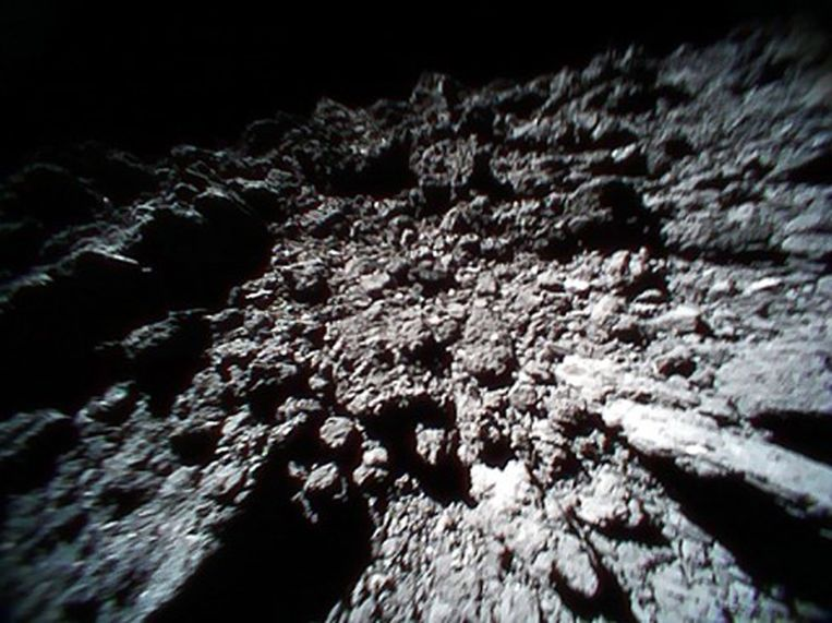 Een foto gemaakt door Rover-1B.