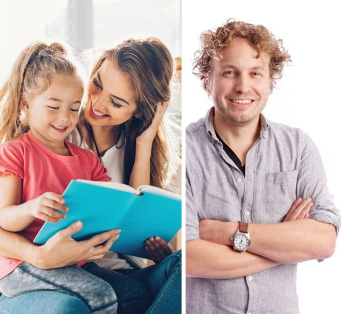 Leesallergie is erfelijk, ze springt over van ouder naar kind, ziet columnist Niels Herijgens. Wie voorlezen ziet als hinderlijke onderbreking van eigen bezigheden, voedt zelf de afbrokkeling van leesvaardigheid.