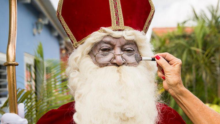 Op Curacao Wordt Sint Wit Geschminkt Trouw