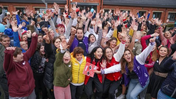 Modeshow, MNM-muur en véél sfeer: SBSO Zonnebos doet gooi naar titel 'De Strafste School 2021'