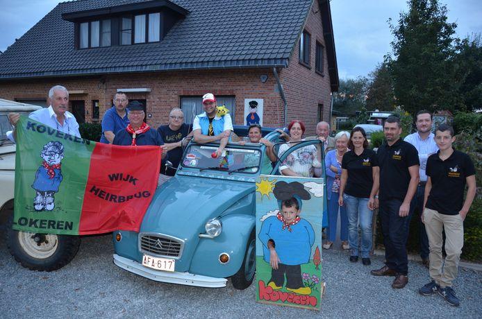 Het team van Kovekenskermis maakt zich op voor de 190ste editie van zijn wijkfeest.