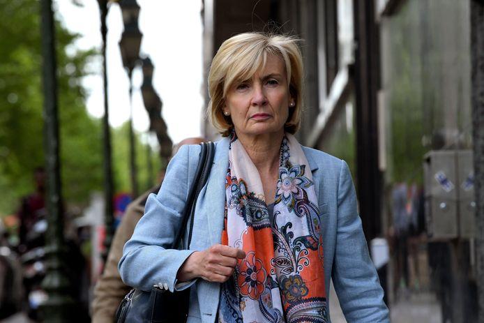 Françoise Schepmans, députée bruxelloise (MR) et ancienne bourgmestre de Molenbeek.