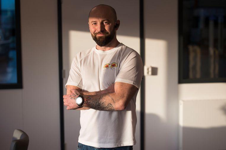 """Marcin Nowakowski: """"Wij zijn vooral bezig om mensen weer iets van een passie of een hobby te geven.""""   Beeld Arie Kievit"""