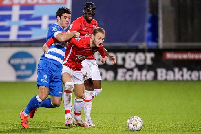 Pelle Clement (links) tekende na negen minuten voor de openingstreffer.