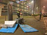 Opnieuw onrust in wijk Hoge Vucht in Breda, chemisch toilet opgeblazen