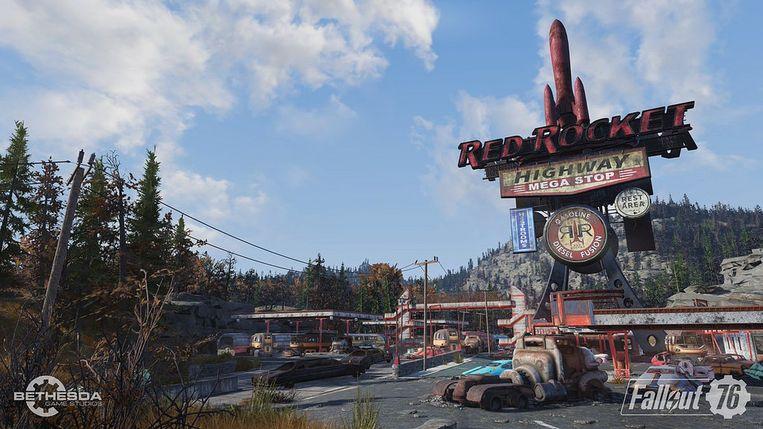 De wereld van 'Fallout 76' doet, ondanks het post-nucleaire thema, heel realistisch aan.