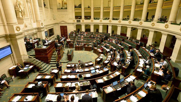 Het federaal parlement is nog steeds niet op kruissnelheid gekomen. Beeld PHOTO_NEWS