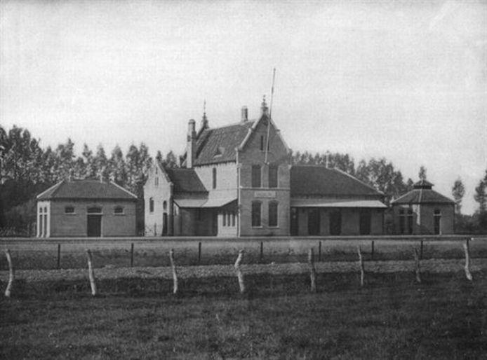 Het voormalige station van Valburg.