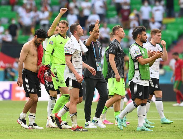 L'Allemagne s'est rassurée en domptant le Portugal, mais devra terminer le travail, mercredi soir.