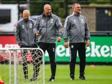 Fotoserie | Lachende Arne Slot bij eerste training Feyenoord, Jørgensen ontbreekt