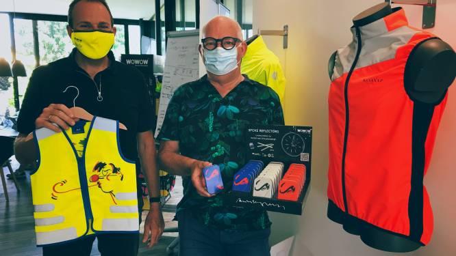 """Peter Lievens (52) van WOWOW Reflective Wear actief in 12 landen: """"De fietser die je gezien hebt, is de fietser die fluo draagt"""""""
