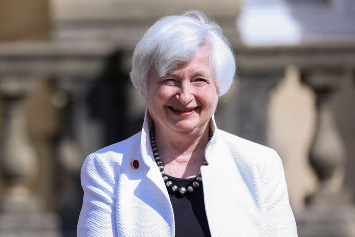 Minister van Financiën van de VS, Janet Yellen.