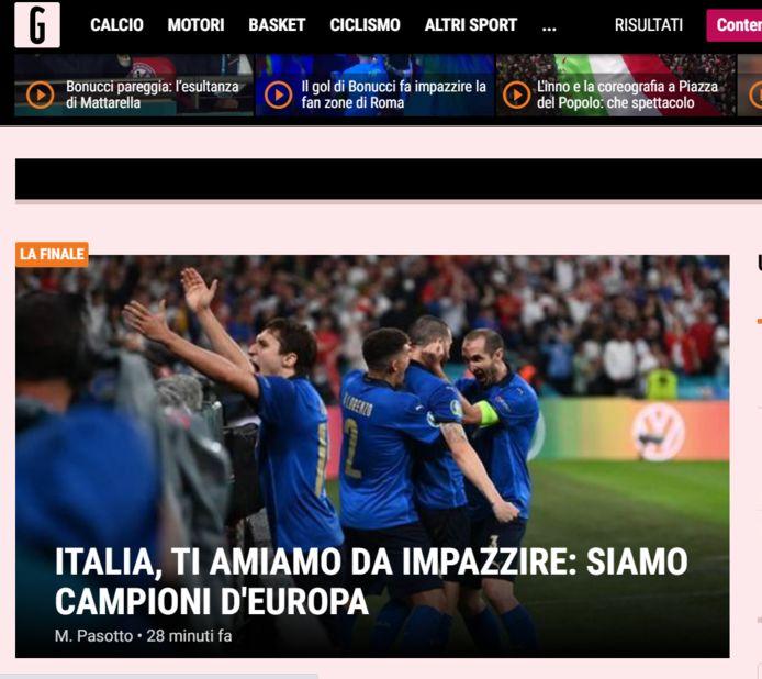 Gazzetta dello Sport.
