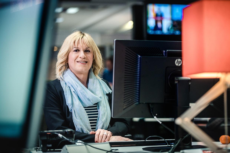 VTM-journalist Bo Van Spilbeeck. Beeld RV VTM