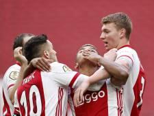 Ajax gaat verder waar het gebleven was, maar heeft zorgen om Klaassen