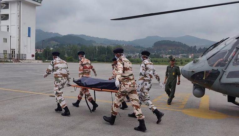 De Indo Tibetan Border Police (ITBP).