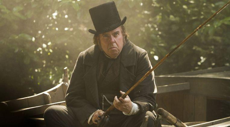 Acteur Timothy Spall als de beroemde kunstenaar in de biopic 'Mr. Turner'. Beeld PHOTO_NEWS