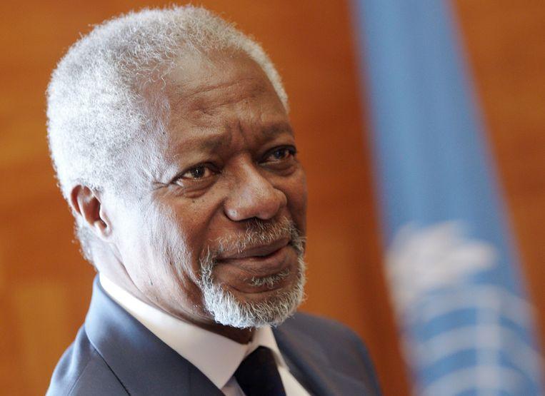Kofi Annan. Beeld REUTERS
