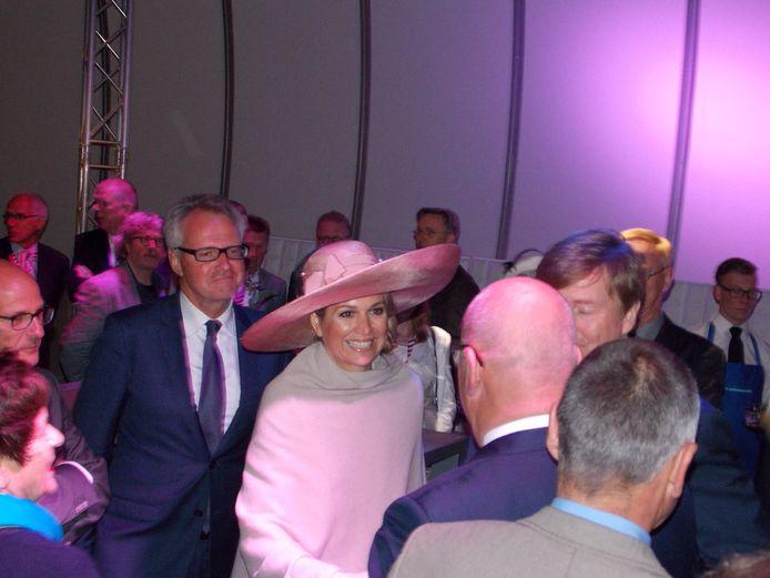 Tijdens de opening van de Sluiskiltunnel op 19 mei 2015.
