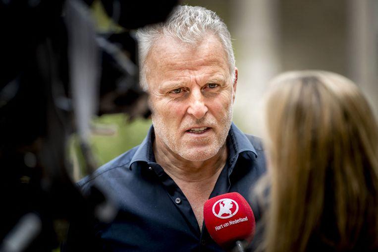 Peter R. de Vries in mei 2017. Beeld AFP
