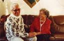 Iwan Dompig met zijn vrouw, die in 2006 overleed.