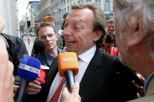 De nieuwe minister van Pensioenen Michel Daerden