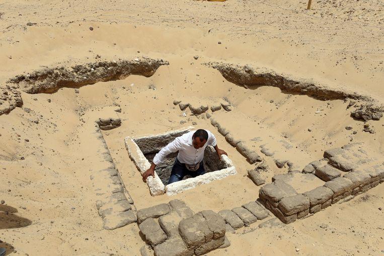 Archeologische site in Minya. Beeld REUTERS