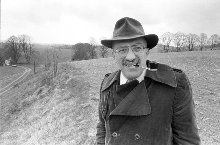 Igor Cornelissen bij de herdenking van veertig jaar Buchenwald, Jena, 02-04-1985.  Beeld Hollandse Hoogte / Hans van den Bogaard