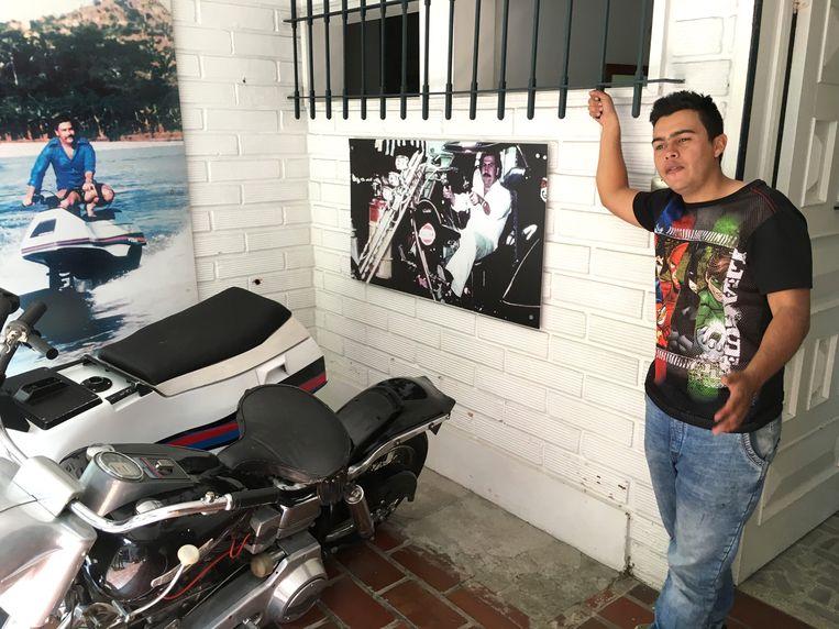 Jaime was zes jaar lang de chauffeur en bodyguard van Gustavo de Jesús Gaviria, neef en rechterhand van Escobar Beeld © AFP