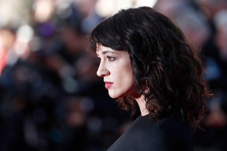 De Italiaanse actrice Asia Argento, hier in Cannes in 2018. Beeld EPA