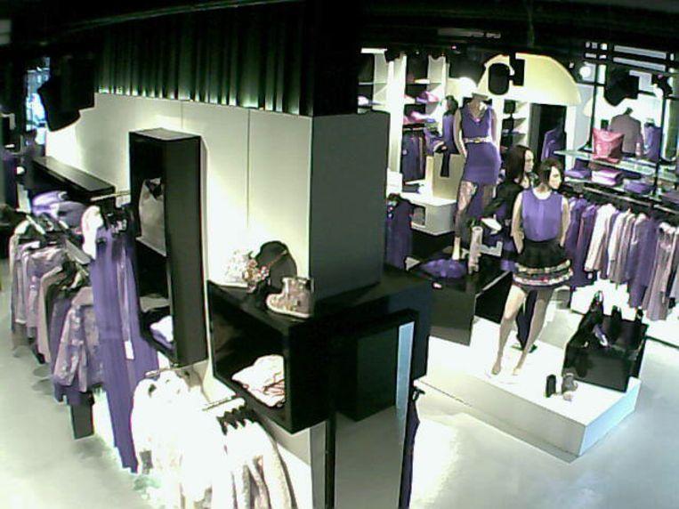 Een kledingwinkel in Mechelen.