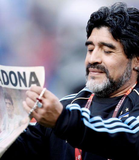 Trois jours de deuil national en Argentine après la mort de Maradona