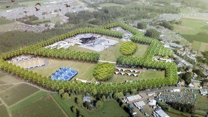 Weide Werchter is 'Landschapspark'geworden