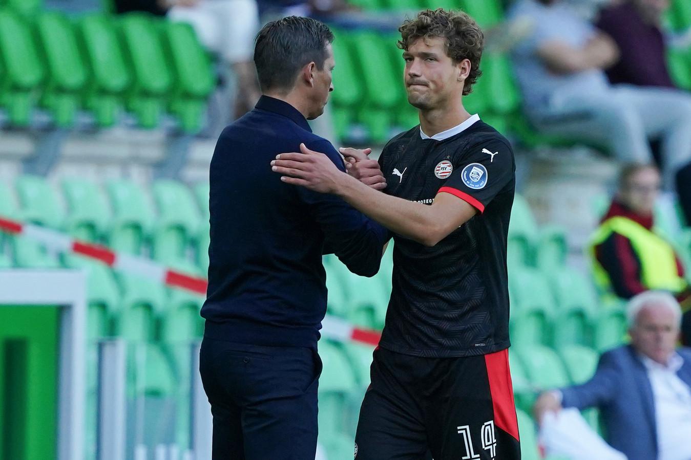 Sam Lammers deed zondag nog 51 minuten mee in de uitwedstrijd bij FC Groningen (1-3), maar vertrekt nu naar de Serie A.