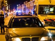 Auto beschoten in Tilburg bij vechtpartij, gewonde aangehouden door politie