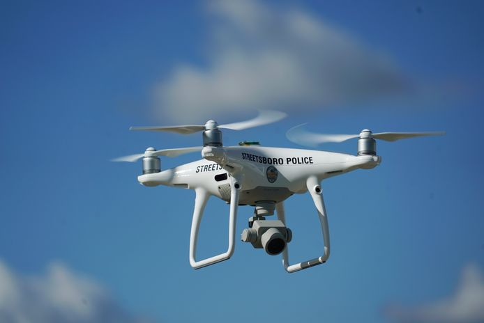 Steeds meer politiekorpsen zetten drones in, ook tegen wegmisbruikers.