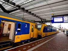 Minder treinen tussen Amsterdam en Rotterdam door wind