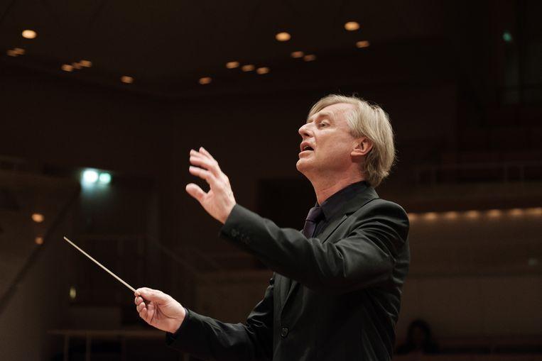 Jan Caeyers, Beethoven-expert en -biograaf. Beeld Foto rv