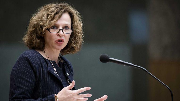 Minister Schippers heeft kosten van de gezondheidszorg onder controle gekregen. Beeld ANP
