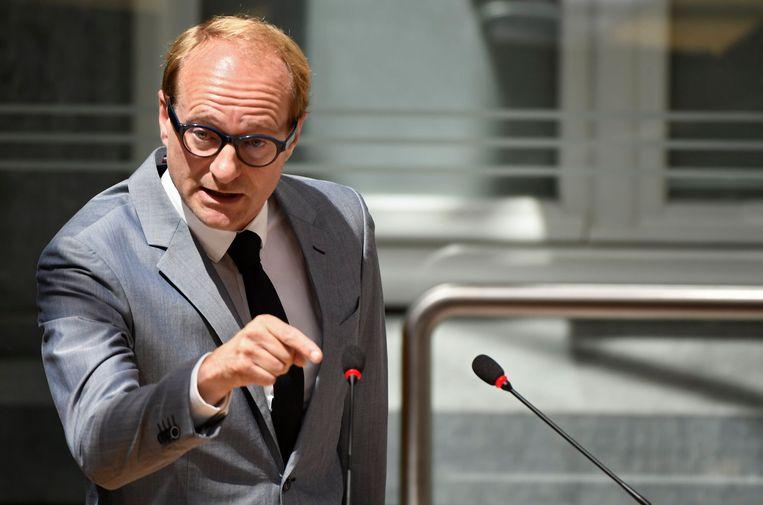 Vlaams minister van Dierenwelzijn Ben Weyts (N-VA). Beeld Photo News