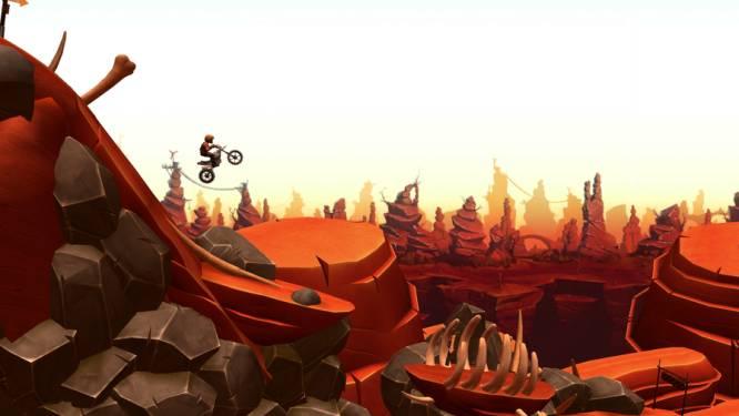'Trials Frontier' rijdt zichzelf in het wiel
