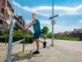 Maarten schaamt zich nog een beetje, maar straks rekt en strekt heel Haastrecht op nieuwe beweegroute