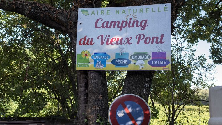 De camping waar het meisje werd verkracht. Beeld ANP