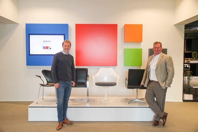 Kinesitherapeut Bert Claerhout (links) is de drijvende kracht achter Ergo-advice in Lokeren.