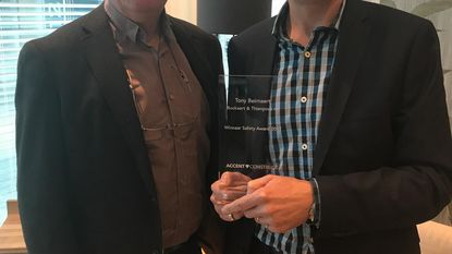 Botha wint Safety Award