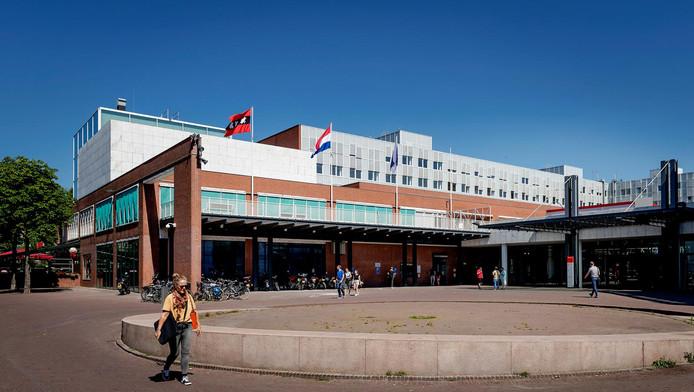 Het stadhuis van de gemeente Amsterdam