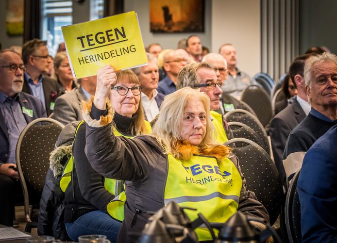 Een meerderheid van de bewoners stemde met een burgerpeiling tegen de herindeling.