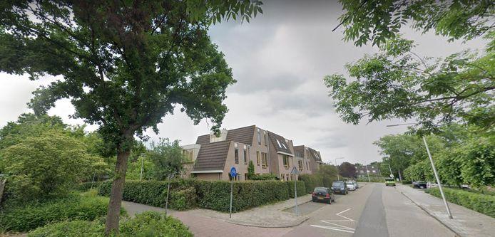 De kruising van het Middenblokpad met de Fivel in Zwolle.