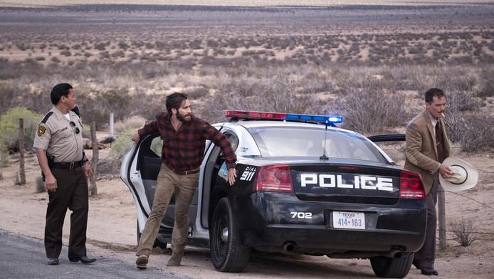 Jake Ghyllenhaal in een scène uit Nocturnal Animals.